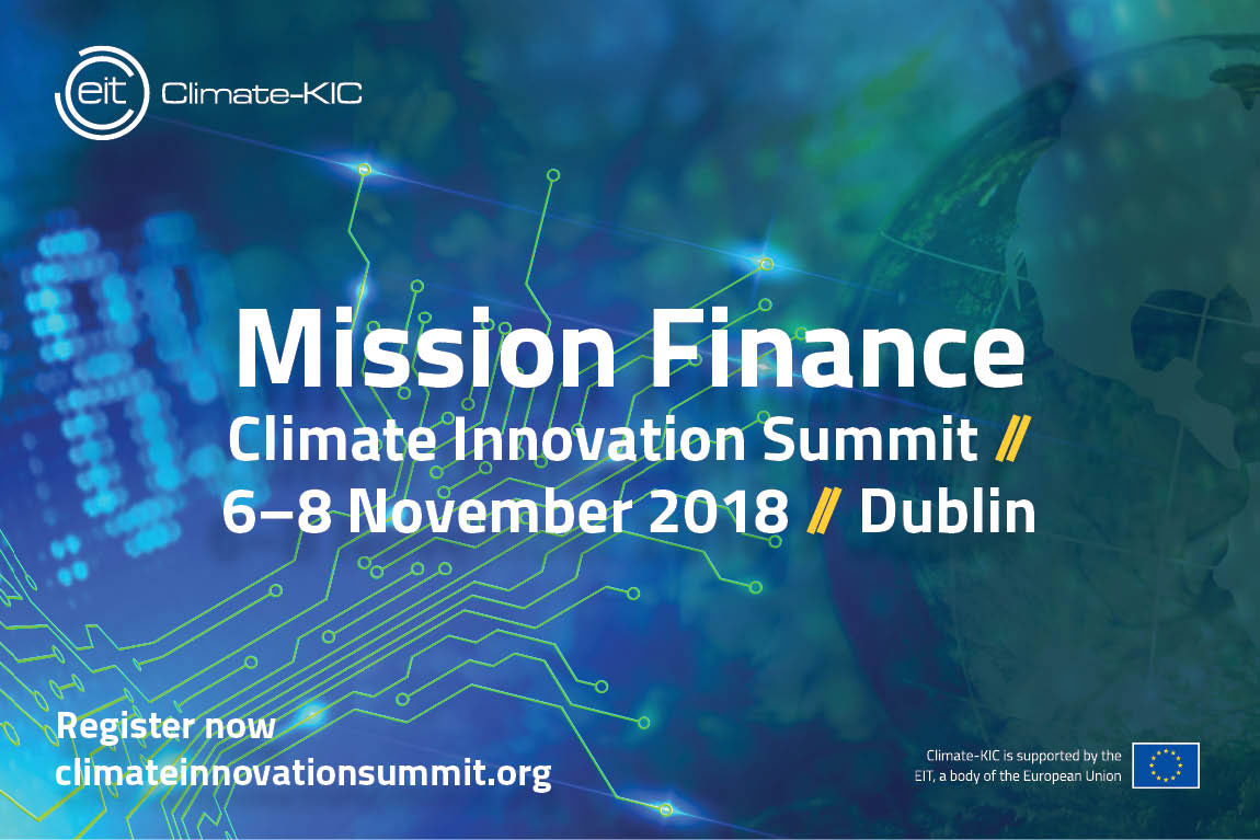 Climate Innovation Summit 2018